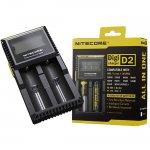 Nitecore D2 punjač za 2 baterije sa digitalnim displejom (Lampe) - www.lovackaoprema.co.rs