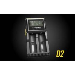 Nitecore D2 punjač za 2 baterije sa digitalnim displejom