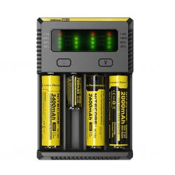 Nitecore NEW i4 punjač za 4 baterije