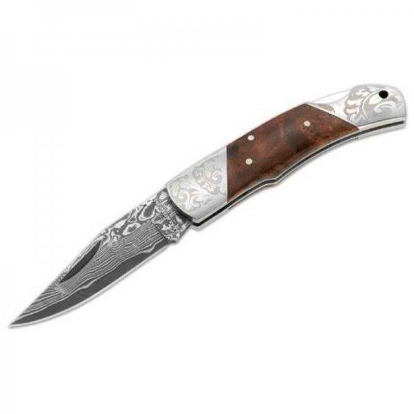 Boker Magnum Damascus Duke (Preklopni noževi) - www.lovackaoprema.co.rs