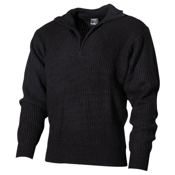 MFH 05505A crni džemper (Lovački džemperi i duksevi) - www.lovackaoprema.co.rs