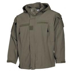 MFH 03401B US Soft Shell zelena jakna