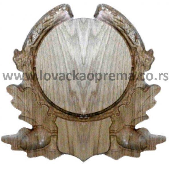 Daska za trofej vepra 17cm (Postolja za trofej) - www.lovackaoprema.co.rs
