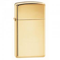 Zippo 1654 B Slim High Polish Brass