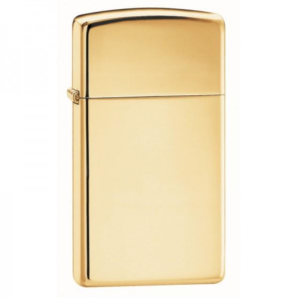 Zippo 1654 B Slim High Polish Brass (ZIPPO) - www.lovackaoprema.co.rs