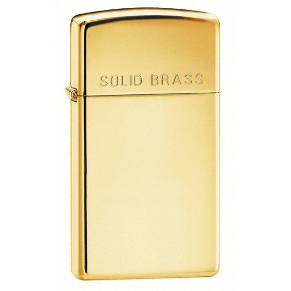 Zippo 1654 Slim High Polish Brass (ZIPPO) - www.lovackaoprema.co.rs