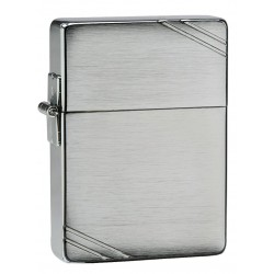 Zippo 1935 Replica Brushed Chrome w/slashes