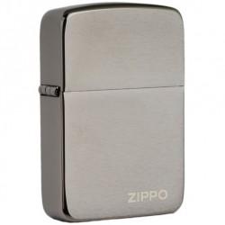 Zippo 24485 Replica Black Ice w/logo zippo