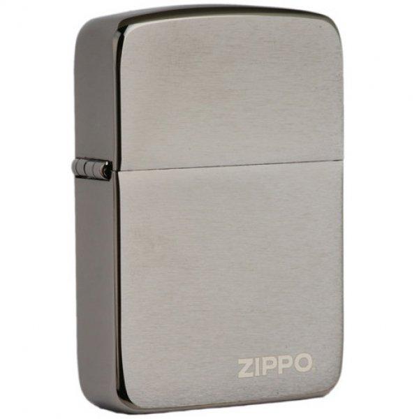 Zippo 24485 Replica Black Ice w/logo zippo (ZIPPO) - www.lovackaoprema.co.rs