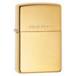 Zippo Solid Brass High Polish