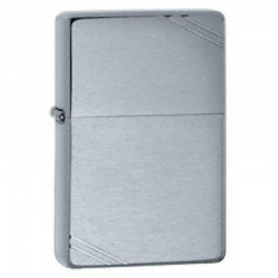 Zippo Vintage Slashes Brushed Chrome