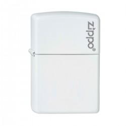 Zippo White Matte w/zippo logo finish